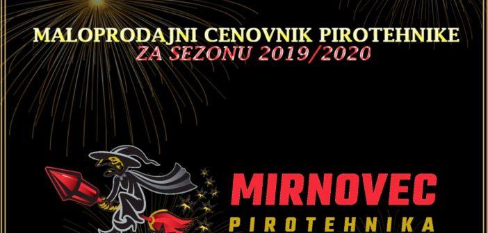 Cenovnik proizvoda za sezonu 2019/2020